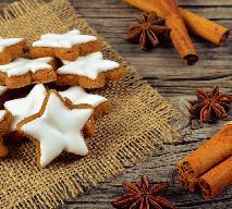 Zimtsterne - niemieckie ciasteczka cynamonowe na święta