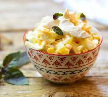 Słodka sałatka z selera i rzeżuchy - lekka alternatywa na świąteczny stół