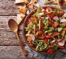 Fattoush - chrupiąca sałatka rodem z Libanu