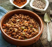GULASZ Z SOCZEWICY - aromatyczne danie wegetariańskie