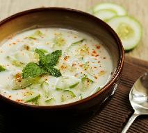 Indyjska raita - jogurtowo-ogórkowy dip do mięs i przekąsek