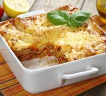 Lasagne z tuńczykiem, cukinią i awokado: łatwy przepis
