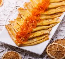 Płonące naleśniki crêpes suzette