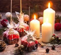 Świąteczne lizaki czekoladowo-malinowe