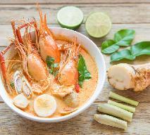 Tom Yum Kung - przepis na orientalną zupę z krewetkami