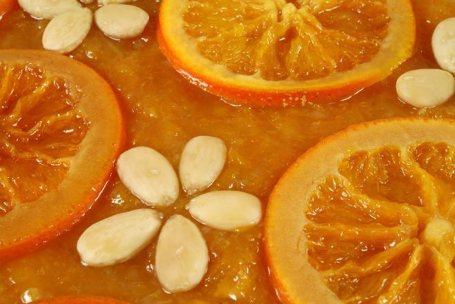 Mazurek z masą pomarańczowo-jabłkową [GALERIA ZDJĘĆ + PRZEPISY]