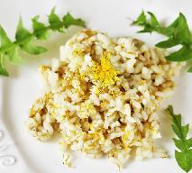 Przepyszne risotto z płatkami mlecza: zdrowotny przepis z mniszkiem lekarskim