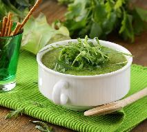 Zupa z sałaty i rukoli - nieco zaskakująca