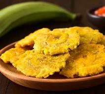 Bananowe placuszki na tłusty czwartek - krążki bananowe smażone w głębokim oleju