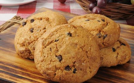 Ciasteczka z dyni z czekoladą: dynia na słodko