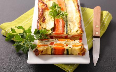 Warzywna terrina: kolorowa i wydajna zapiekanka z marchewki i cukinii