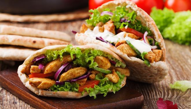 Domowy kebab z piekarnika