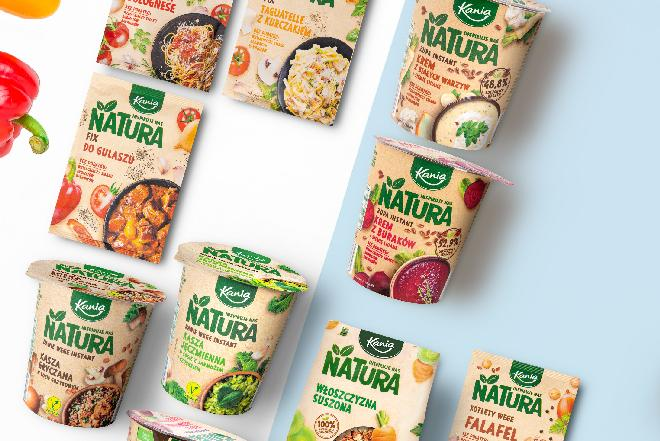 Bliżej natury z produktami Kania: nowe dania instant od Lidla