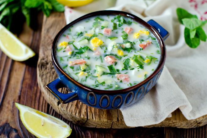 Chłodniki - 30 przepisów na pyszne zupy na zimno